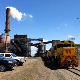 Cane Train at Mill